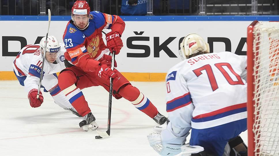 Как сборная России победила норвежцев