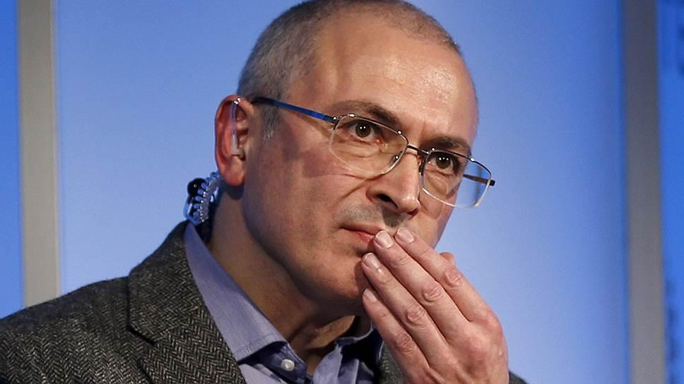 Интерполу предложено вернуться к Михаилу Ходорковскому