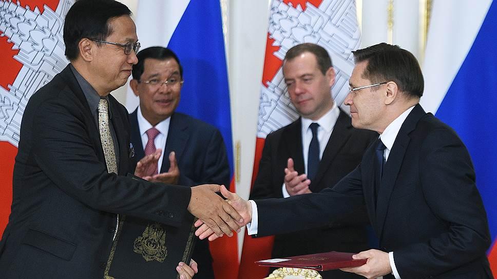 Россия видит Камбоджу стратегическим партнером в АСЕАН
