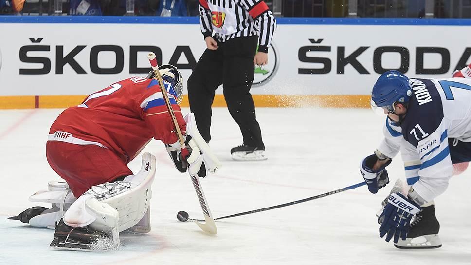 Как сборная России проиграла финскому большинству