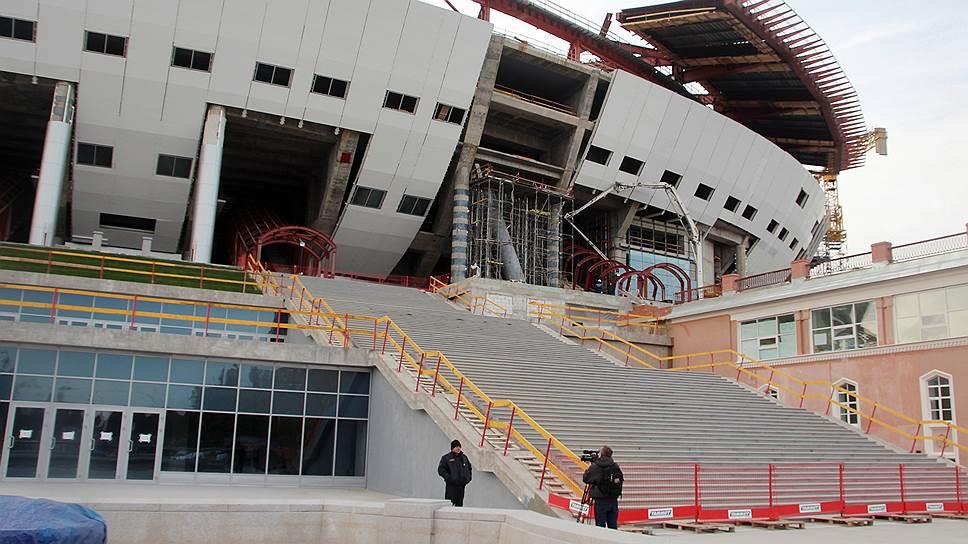 Что нужно знать о строительстве «Зенит-Арены»