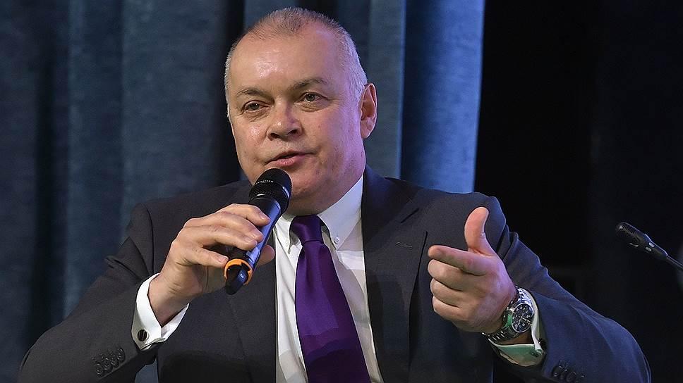 Генеральный директор информационного агентства «Россия сегодня», телеведущий Дмитрий Киселев