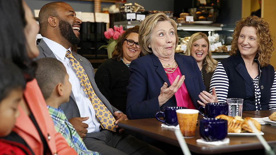 Хиллари Клинтон видит своим соперником только Дональда Трампа