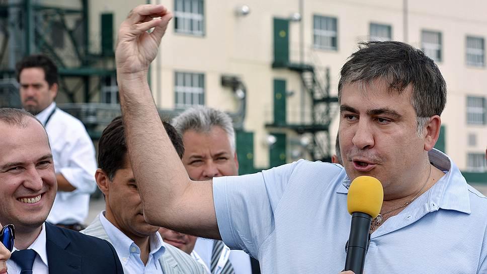 Почему Михаил Саакашвили создает украинскую антикоррупционную партию