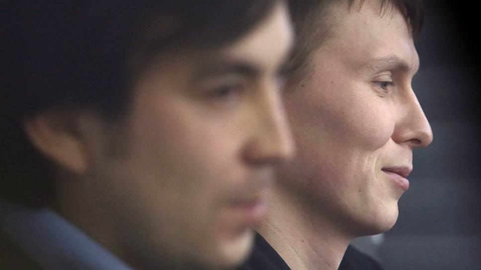 Евгений Ерофеев (слева) и  Александр Александров