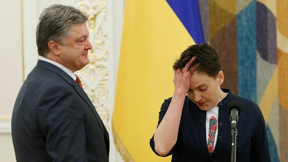 Надежда Савченко может стать для украинской власти проблемой