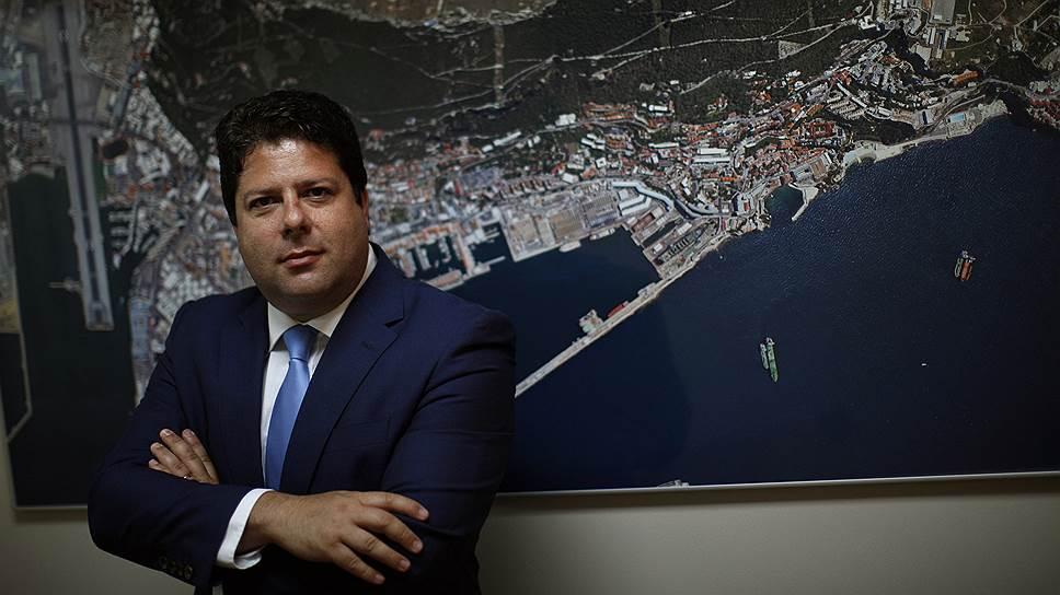 Главный министр Гибралтара Фабиан Пикардо
