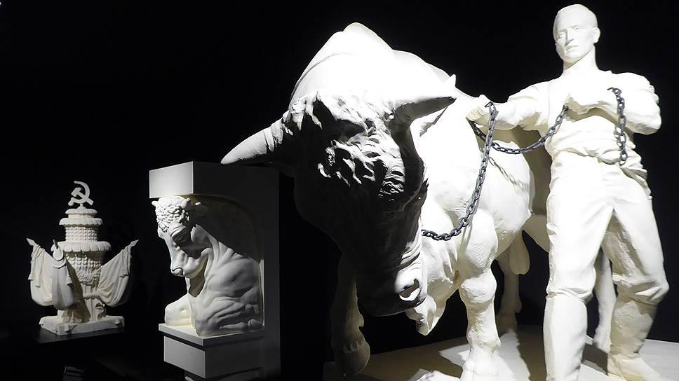 Российский павильон на Венецианской биеннале архитектуры начинается с музея гипсовых слепков со скульптур ВДНХ