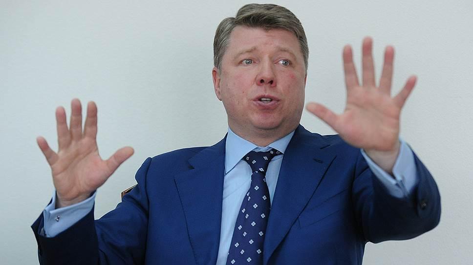 Руководитель Департамента средств массовой информации и рекламы правительства Москвы Владимир Черников