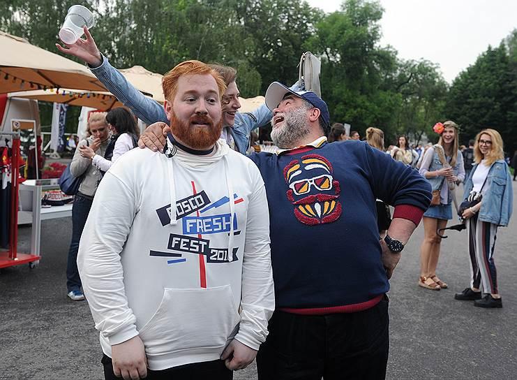 Музыкант, продюсер Илья Куснирович (слева) и председатель наблюдательного совета компании Bosco di Ciliegi Михаил Куснирович (справа)