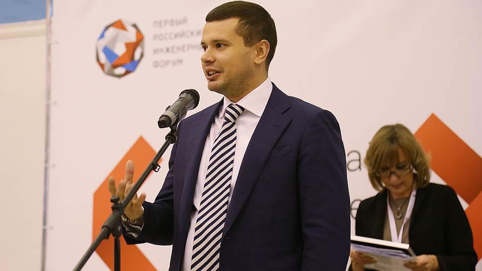 Министр информационного развития и связи Пермского края Евгений Балуев