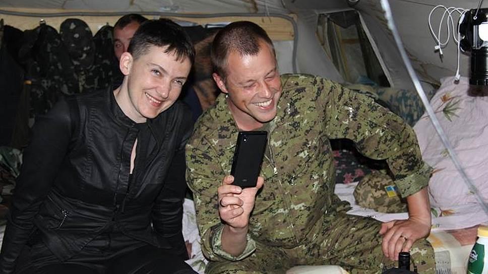 Как Надежда Савченко вернулась в Донбасс