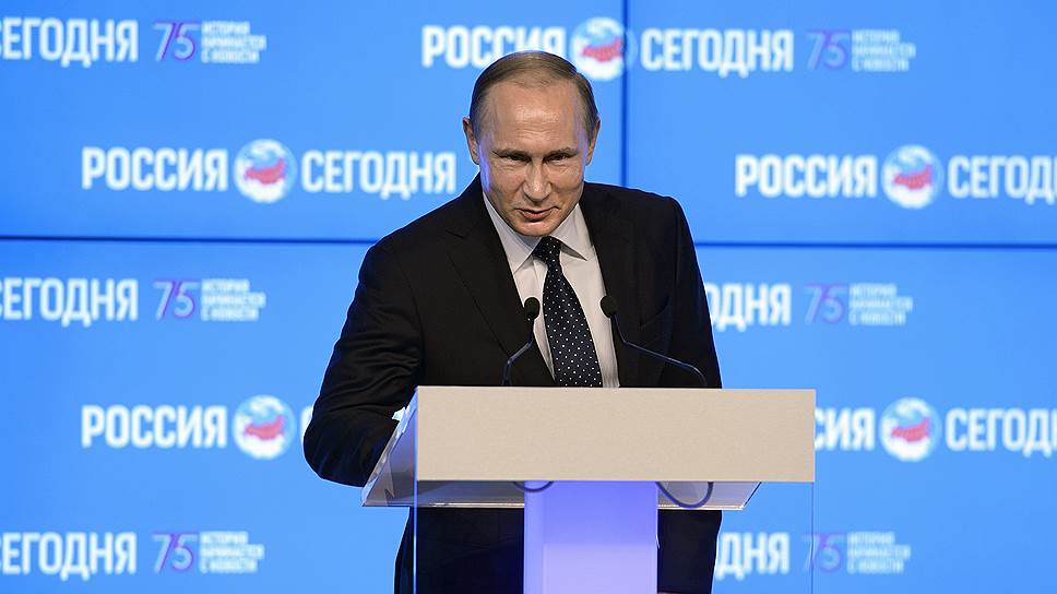 Что Владимир Путин рассказал о сути журналистики