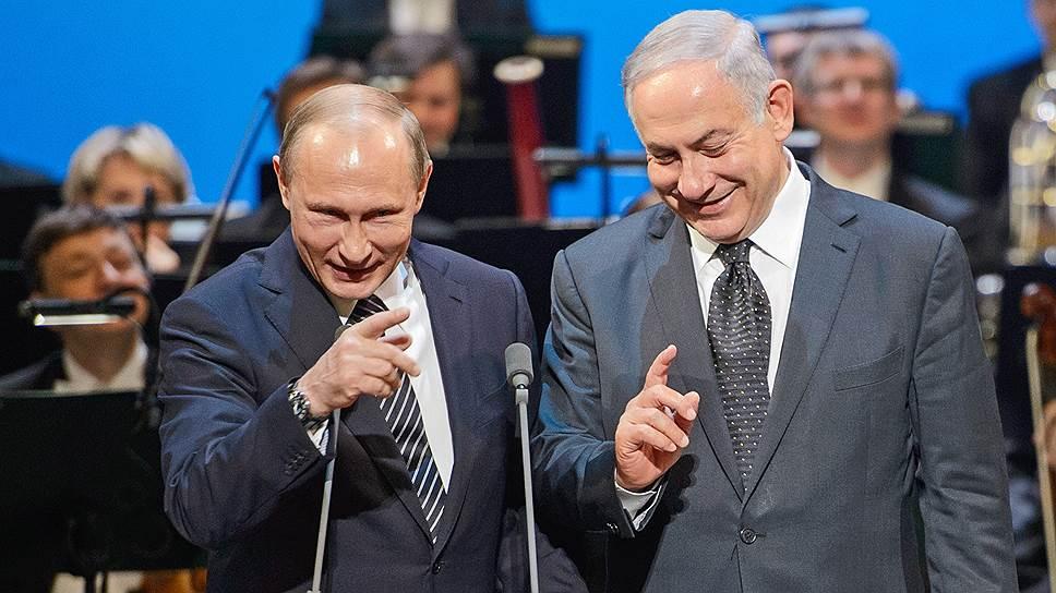 В Большом театре Владимир Путин и Биньямин Нетаньяху предпочитали общаться языком жестов — видимо, чтобы не задействовать никакого переводчика