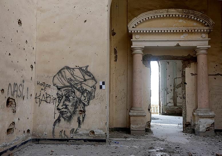 Восстановленный дворец «Дар-уль-Аман» по замыслу должен стать символом возрождения страны и демократии после многих лет кровопролитной войны