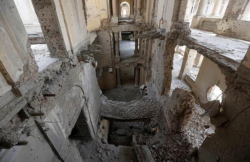 В мае 2016 года президент Афганистана Ашраф Гани начал претворять в жизнь смелый план реконструкции по превращению дворца в музей и место проведения национальных церемоний
