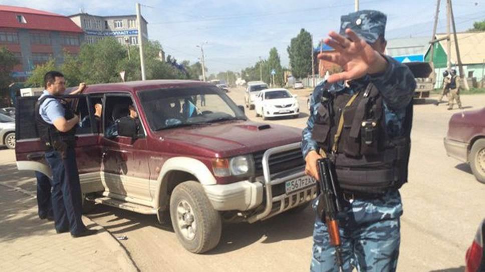 Как в Актобе задержали пять террористов