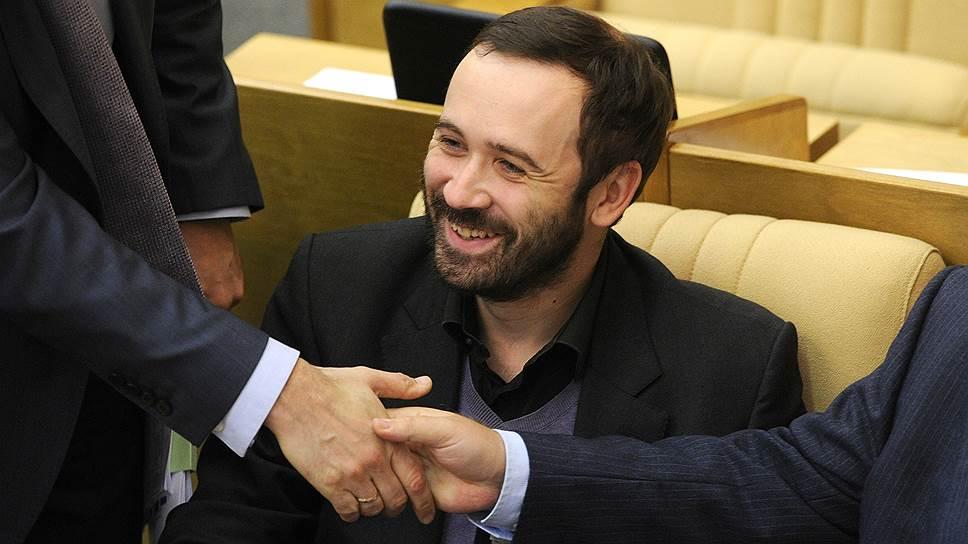 Как Госдума лишила мандата Илью Пономарева