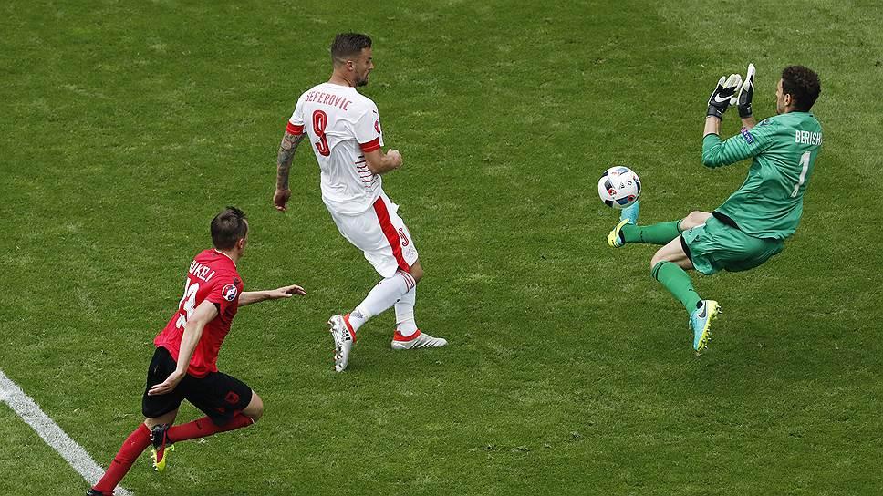 Сборная Швейцарии начала чемпионат Европы с победы