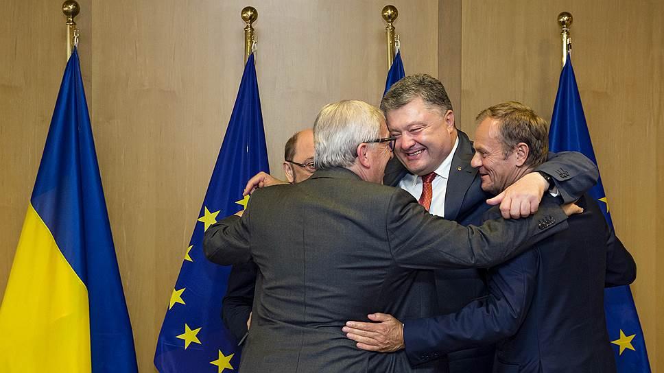 Петр Порошенко потерялся в Европе