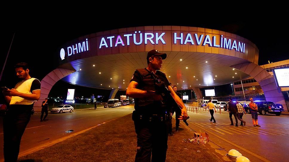 Кто взял на себя ответственность за теракт в аэропорту Стамбула