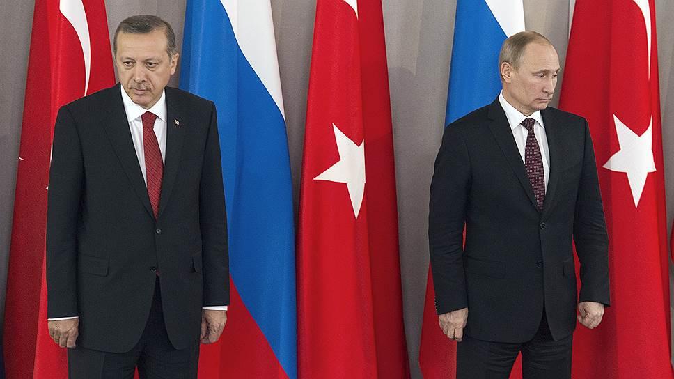Владимир Путин и Реджеп Тайип Эрдоган договорились встретиться