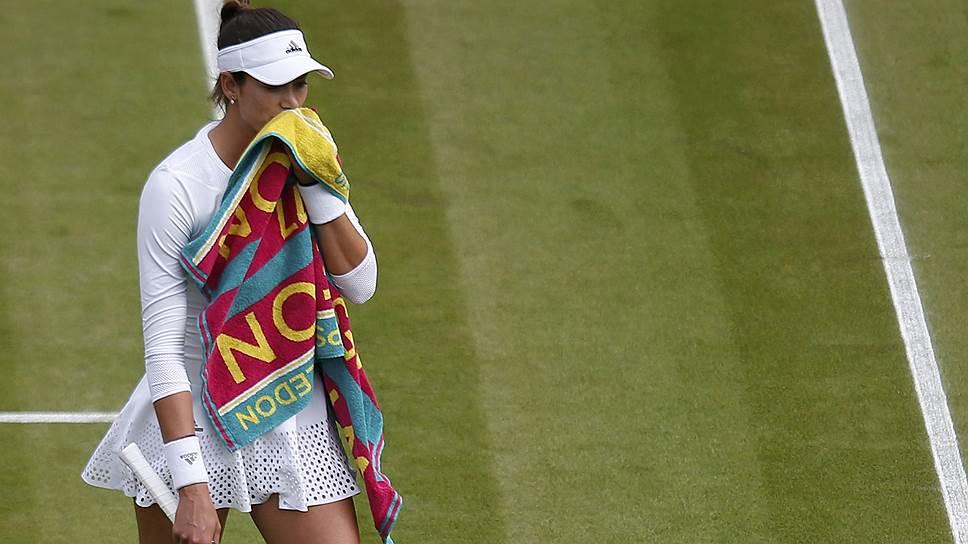 Гарбинье Мугуруса проиграла во втором круге Wimbledon