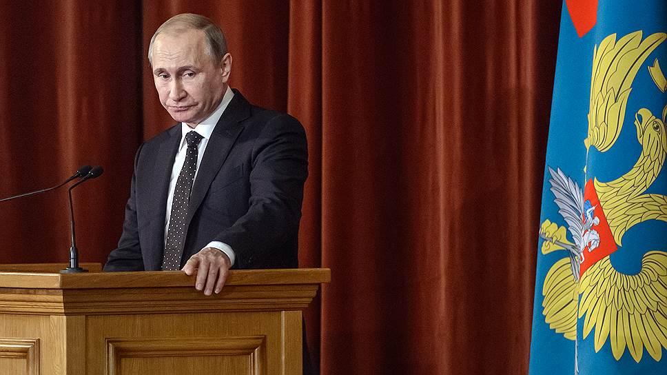 Владимир Путин на встрече с послами был таким, каким его хотят видеть не только друзья, но и враги