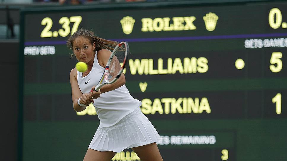 Дарья Касаткина проиграла Винус Уильямс в 1/16 финала Wimbledon