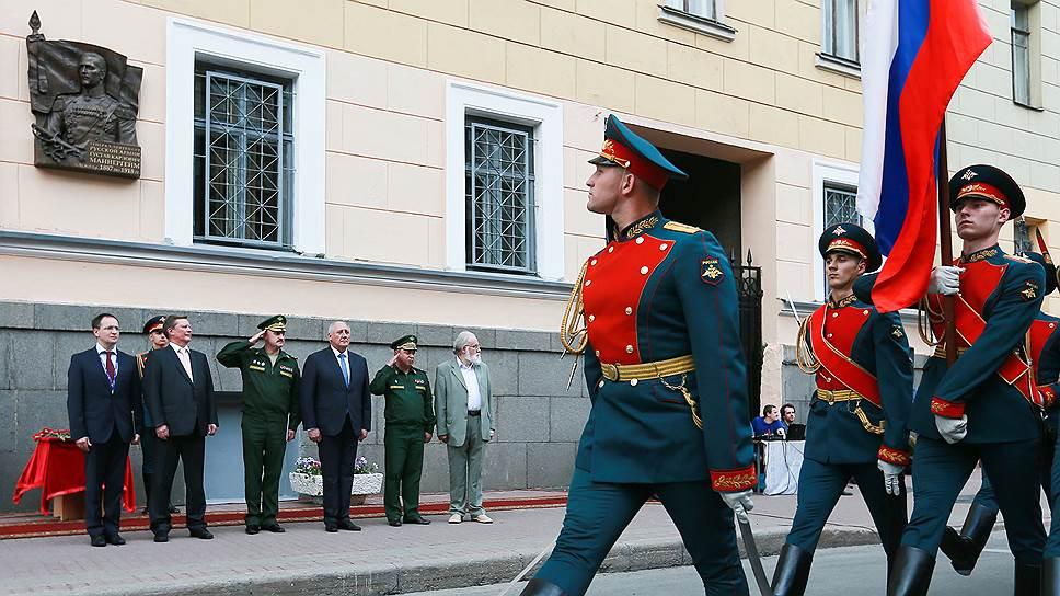 Почему установку мемориального знака в часть финского маршала и президента Карла Маннергейма считают незаконной