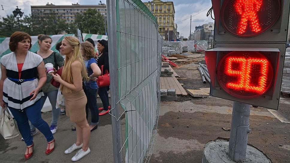 Москву ждет еще два лета благоустройства