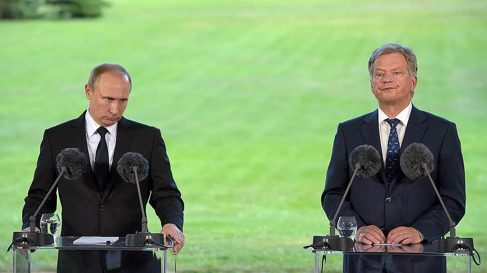 Что говорил Владимир Путин о НАТО в Финляндии