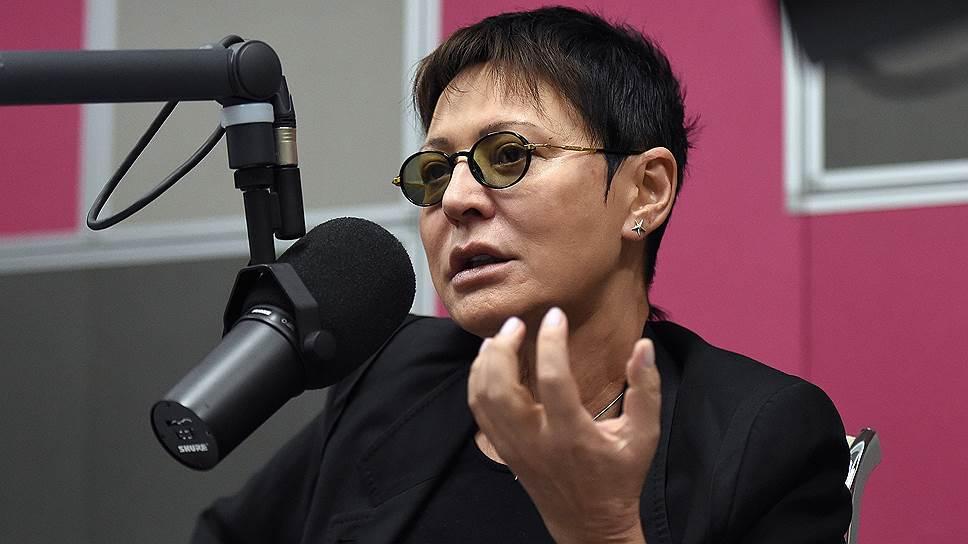 Бывший депутат Госдумы и экс-сопредседатель партии «Союз правых сил» Ирина Хакамада