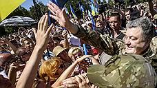 Петр Порошенко поздравил Славянск с годовщиной возвращения на Украину