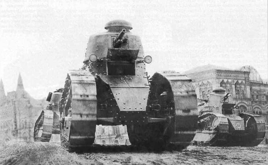 10 августа 1919 года по решению Совнаркома и Совета военной промышленности нижегородский судостроительный завод «Красное Сормово» был переориентирован на производство танков