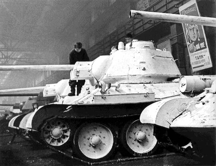 За годы Великой отечественной войны было выпущено более 58 тыс. Т-34. В разное время он также использовался армиями 25 стран, в том числе фашистской Германии