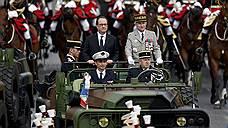 Франсуа Олланд попрощался с французской армией