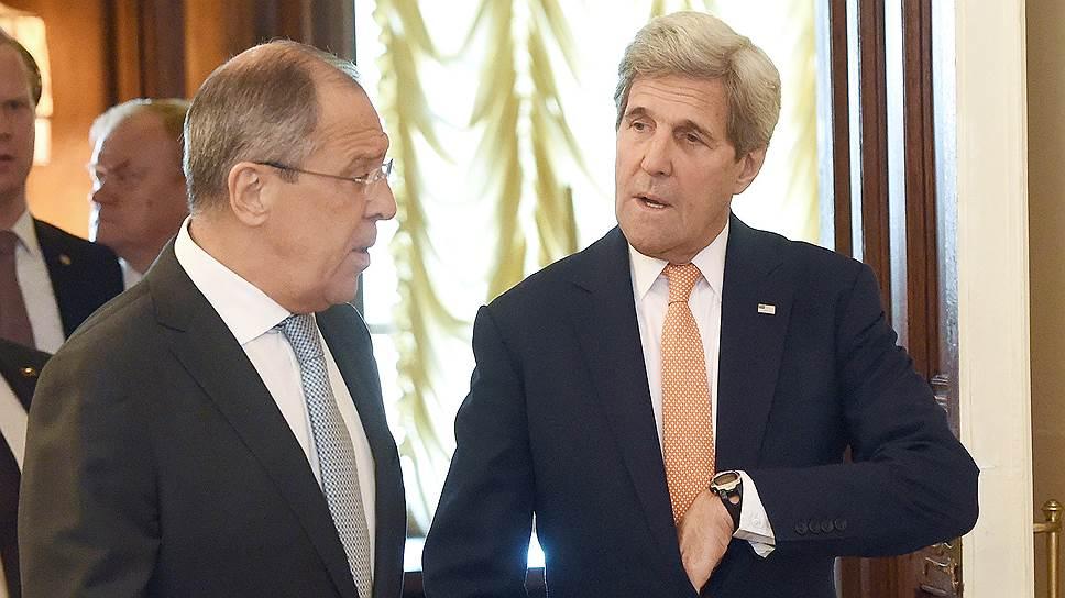 Как Джон Керри два дня обсуждал в Москве сирийское урегулирование