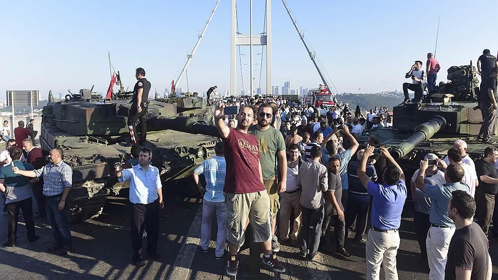 Что известно на данный момент о попытке госпереворота в Турции