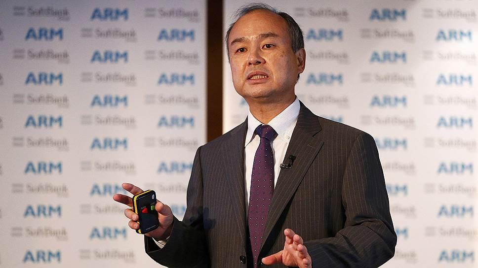 Генеральный директор Softbank Масаеси Сон