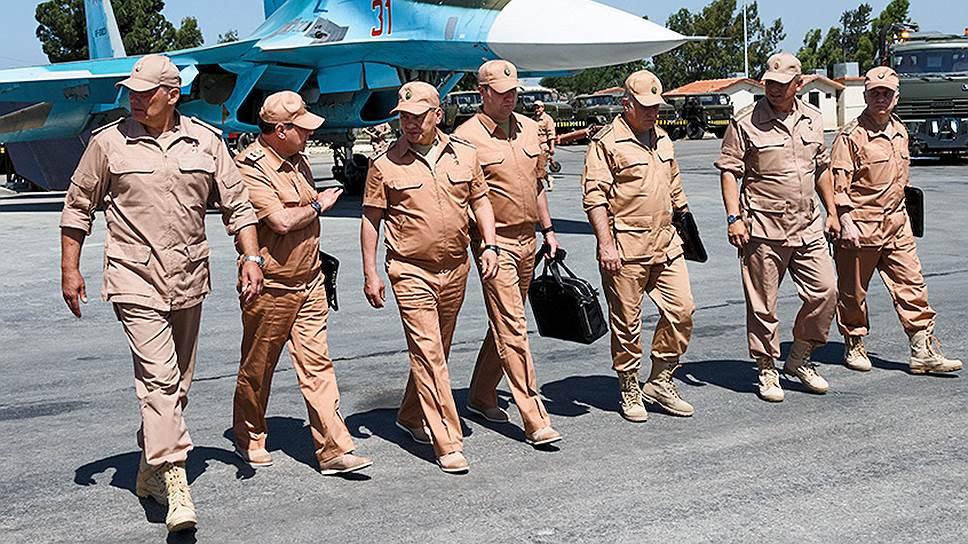 Кто стал новым командующим группировки войск в Сирии