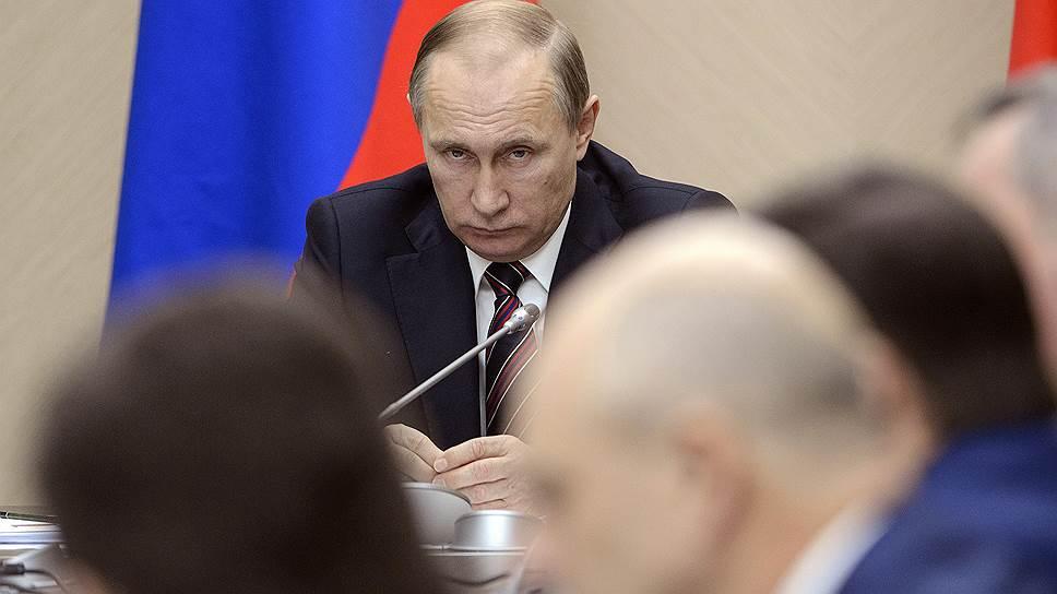Что Владимиру Путину рассказали о практике контроля и надзора