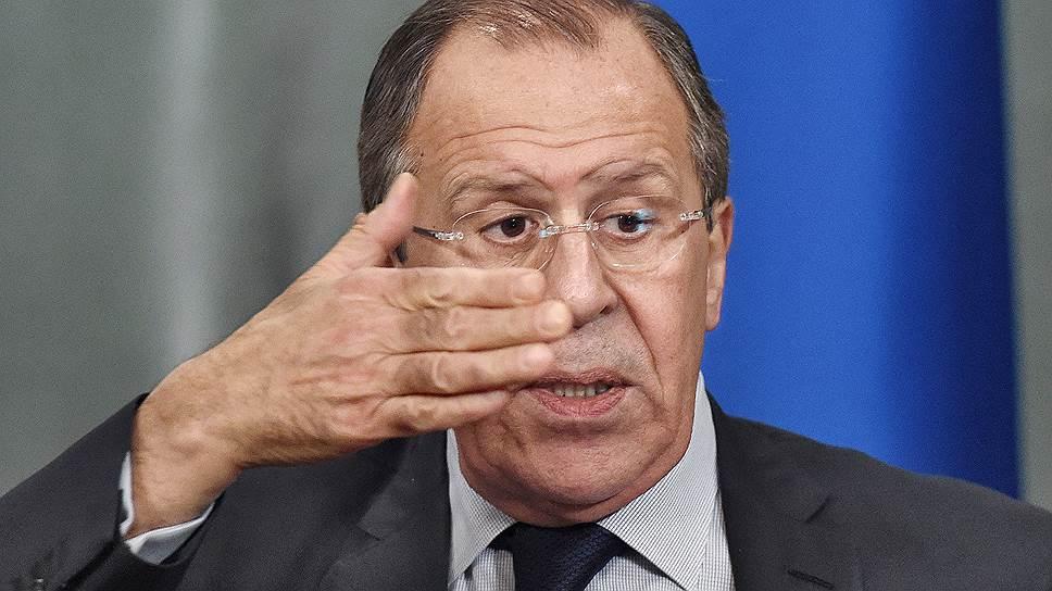 Что Сергей Лавров рассказал о санкциях