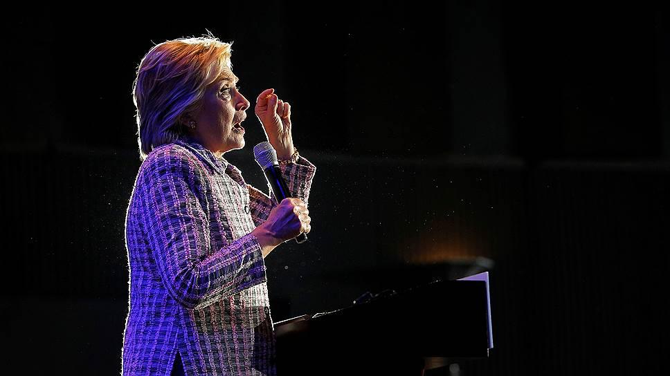 Как Хиллари Клинтон официально стала кандидатом в президенты США