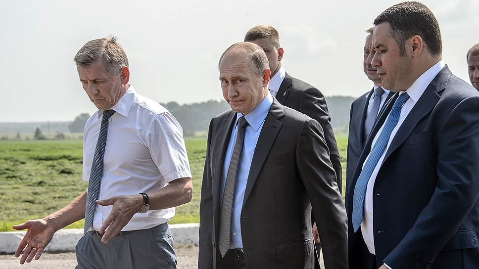Как Владимир Путин произвел в июле всероссийскую ротацию
