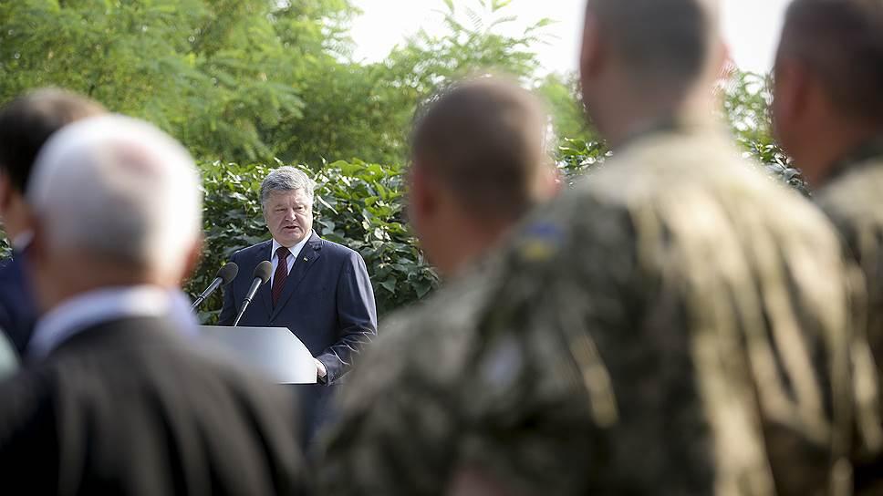 Петр Порошенко выступил за отделение украинской церкви от Москвы
