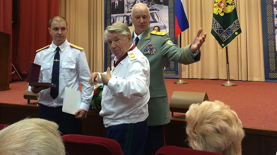 Председатель СКР Александр Бастрыкин и бывший генпрокурор СССР Александр Сухарев
