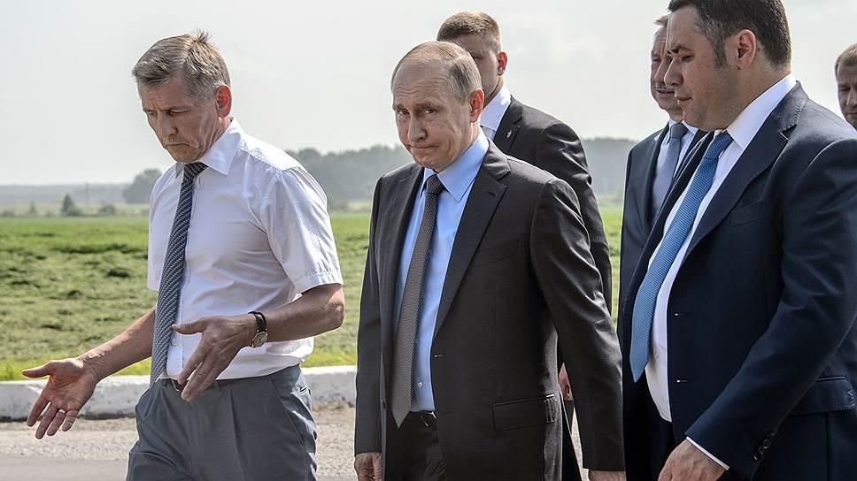Как Владимир Путин передвинул кадры по вертикали и по горизонтали