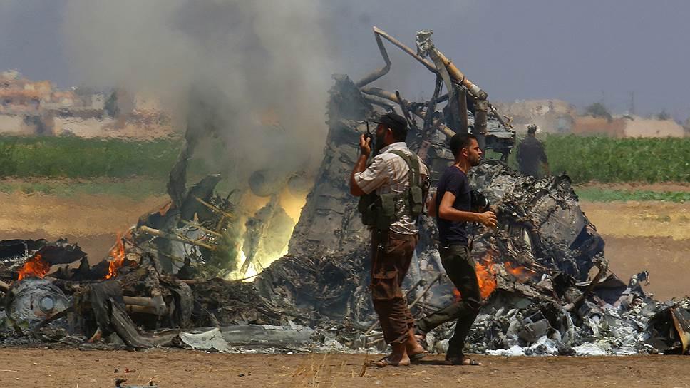 Шансов выжить у россиян, находившихся на борту сбитого в районе Алеппо Ми-8АМТШ, не было