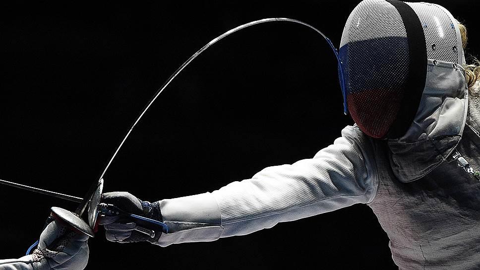 Инна Дериглазова стала первой в России обладательницей личного золота Игр в фехтовании на рапирах